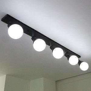 레이나 주방등 5등/레일조명 식탁등 LED겸용 카페