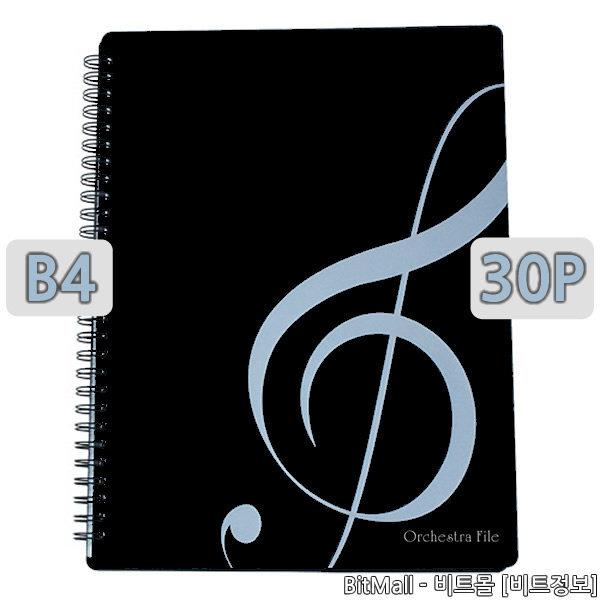 오케스트라화일 B4 30p 악보화일 음악화일 /연주용
