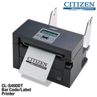 시티즌 CL-S400DT 바코드프린터 감열전용 라벨프린터