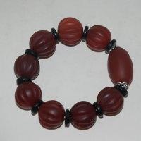 티벳마노옥원석으로된 팔찌
