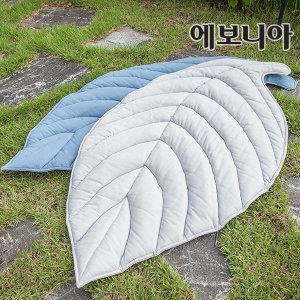 손누비 나뭇잎러그(대)/린넨/나뭇잎러그