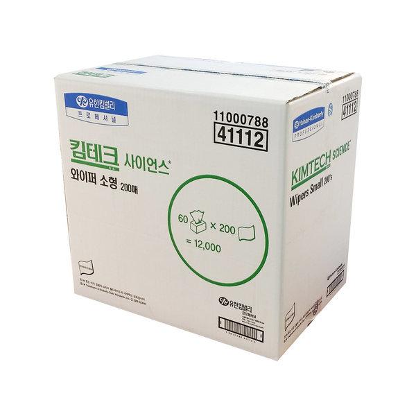 킴테크 사이언스 와이퍼 소형 200매 60 41112