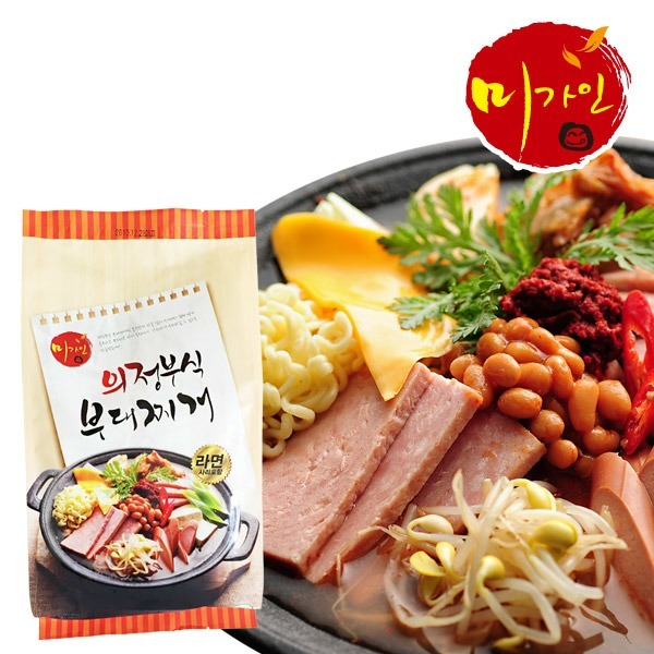 미가인 의정부식 부대찌개 2~3인분 / 730g