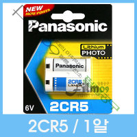 파나소닉 2CR5 리튬 건전지/배터리 6V -1알