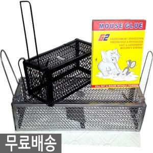 딱일주일 무료배송 쥐덫 쥐끈끈이 쥐망 양문특수형