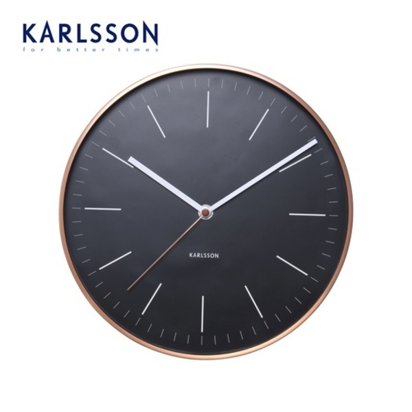 대구백화점 I관   칼슨(karlsson) 미니멀 벽시계(KA5507WH)