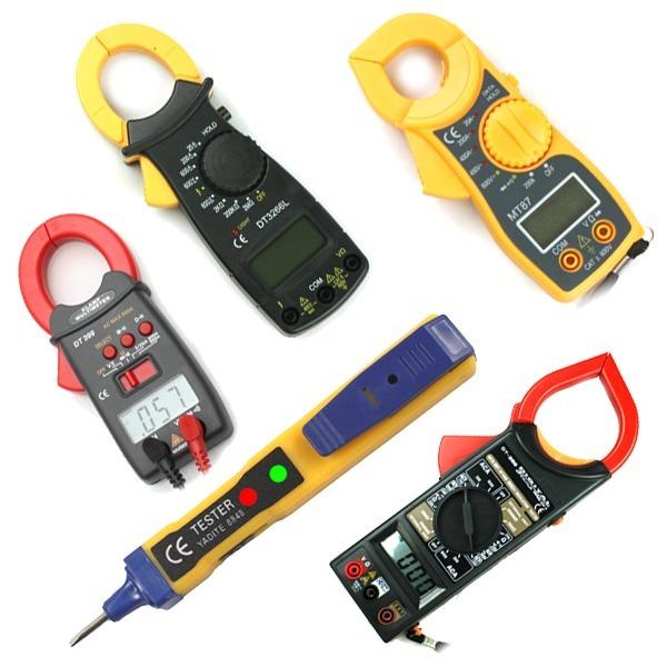 멀티테스터기 측정기 검전기 전기테스터기 클램프