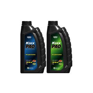 GS칼텍스/Kixx PAO 5W30/Kixx PAO 5W40/1L/합성유