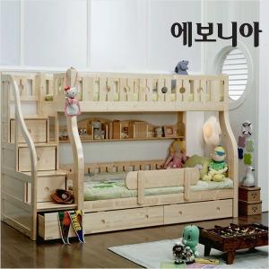 올리버 이층침대/계단수납형/매트선택/2층침대