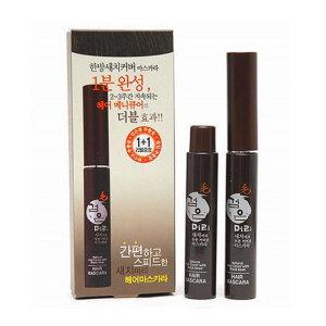 새치커버 검은머리 헤어마스카라 기획구성(본품+리필)