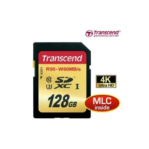 당일출고. 트랜센드 SDXC CLASS10 UHS-I U3 128GB