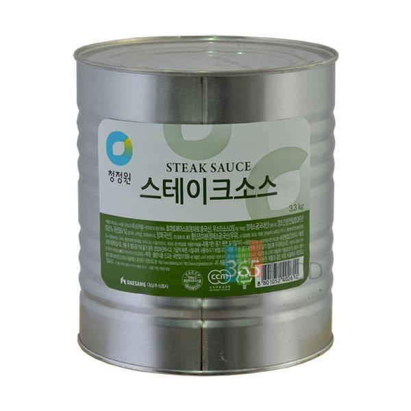 청정원 스테이크소스 3.3kg