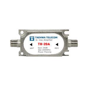 TH-20A 위성라인 증폭기-LNB와 수신기사이에 설치20DB