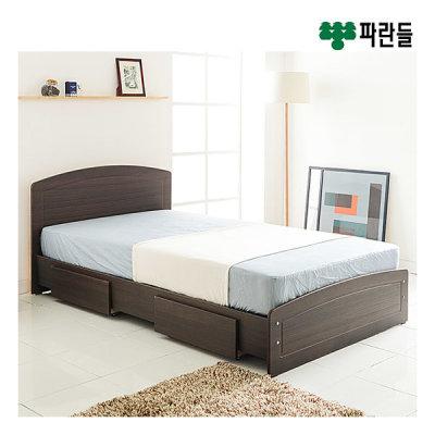 [파란들가구] 헤미쉬 서랍형 침대(S)+독립스프링매트리스_ch