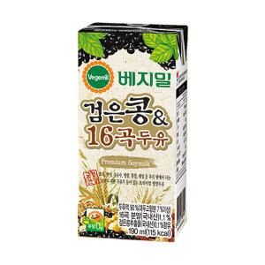 정식품/검은콩16곡190ml(16팩)X1박스/16팩/베지밀