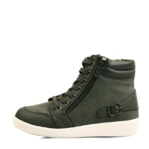 국내생산 Back belted high top