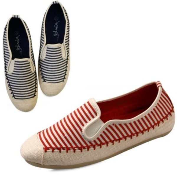 Stitch combi stripe sneak