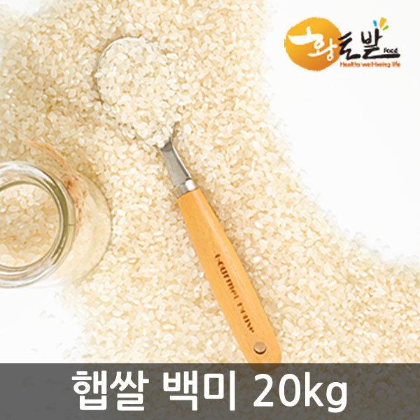 19년 국내산 100% 쌀/찰진밥/백미20kg