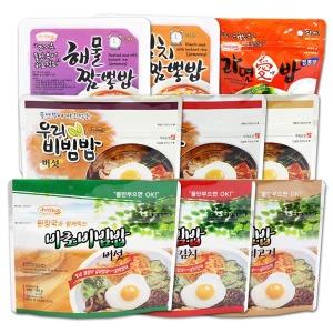 바로비빔밥/우리비빔밥/즉석밥/비상식량/전투식량