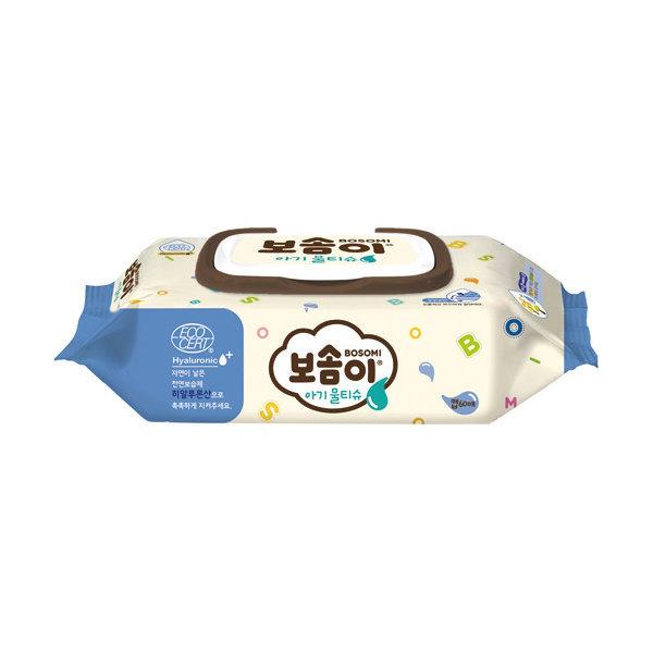 117953 보솜이 아기용 물티슈 60매