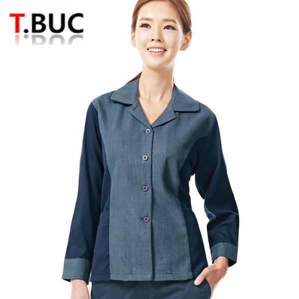 자켓 티뷰크 TB-203 여성 추동근무복 작업복 유니폼