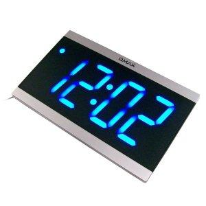 리모콘 시분전용 디지탈 시계-LED 벽걸이 탁상 알람