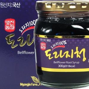 도라지청 300g/국내산 도라지/엑기스/진액/즙/차/명진