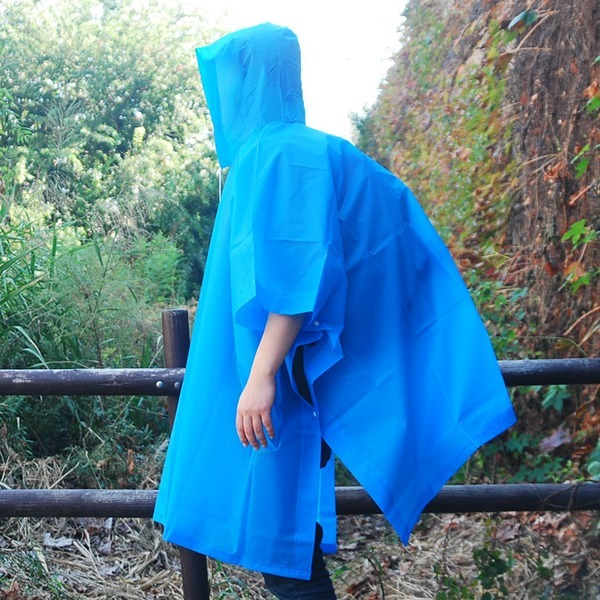 EVA 등산우의 판초우의 코트우의 우의 비옷
