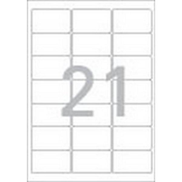 주소용 라벨 LS-3105 100매 21칸 폼텍