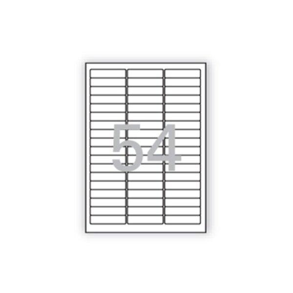 분류표기용 라벨 LS-3154 100매 54칸 폼텍