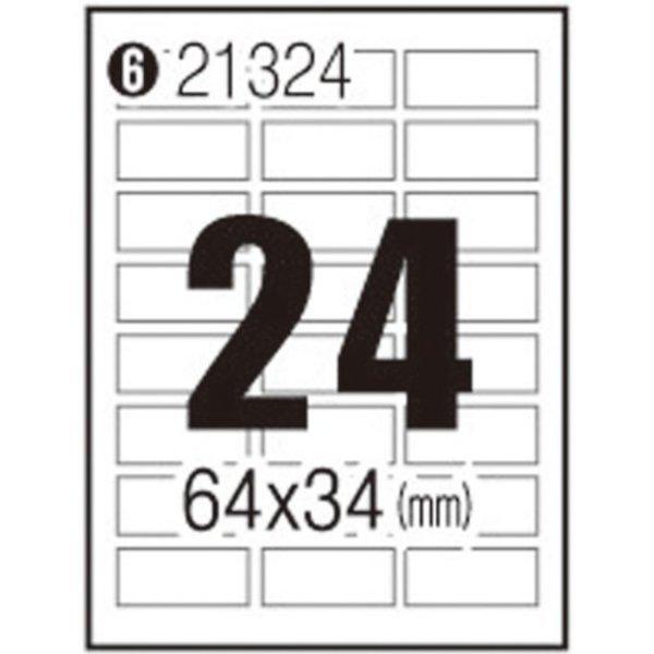 102966 3M 일반형 주소용 라벨 21324/24칸/100매