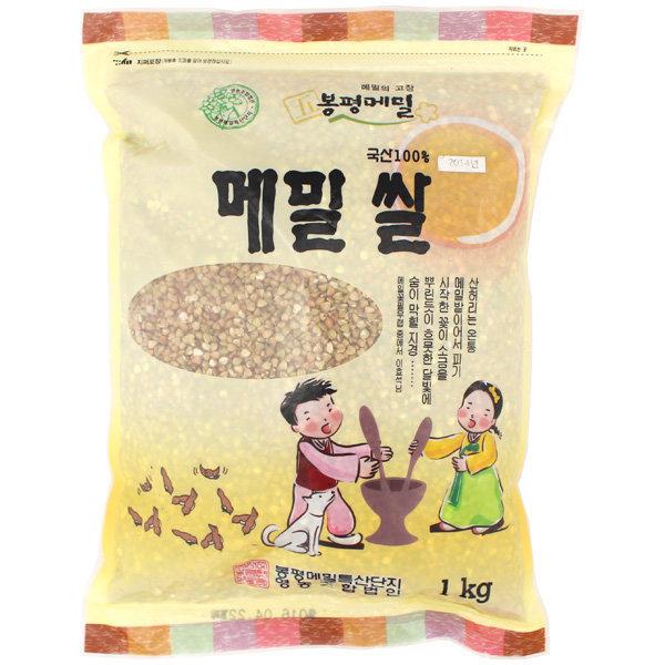 봉평 메밀 메밀쌀 1Kg 봉평직송