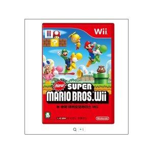 (Wii) 닌텐도 위 뉴 슈퍼 마리오 브라더스 (Wii) 중고