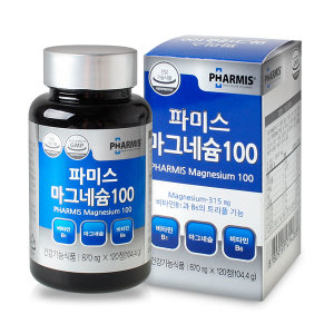 파미스 트리플 마그네슘 120정(4개월분/대용량)