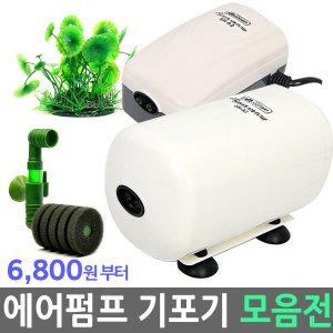 산소 기포 발생기 모음 / 쌍기 아마존 수족관어항용품