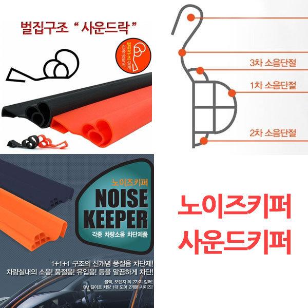 원드키퍼 2 노이즈키퍼 사운드락/ 풍절음 방진 방음
