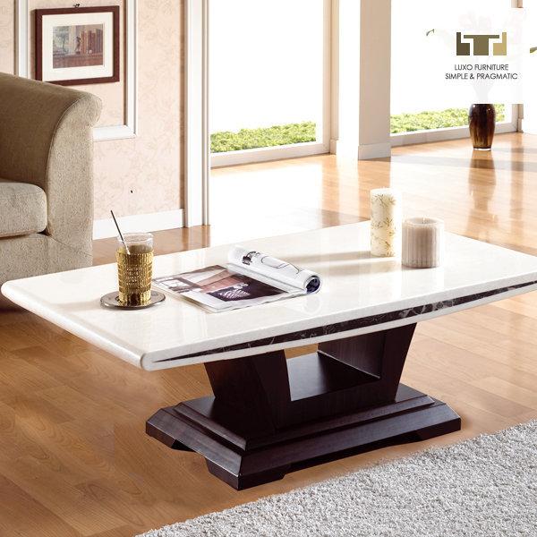 까르페 대리석 테이블[115x65cm] 까르페 대리석 쇼파테이블/거실 ...