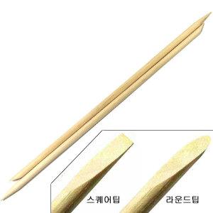 T2U 네일 오렌지 우드스틱 15cm 10개 /큐티클푸셔밀대