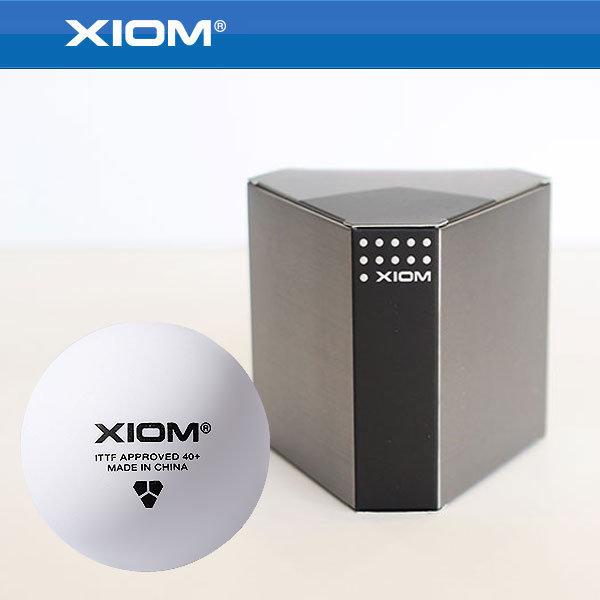 XIOM 6입 플라스틱볼 탁구공 경기용탁구공 공인시합구