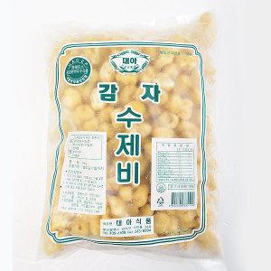 감자 수제비 2kg 쫄깃쫄깃한 수제비 사리