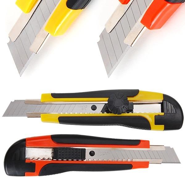 18mm대형 커터칼 2종 칼날 컷터칼 문구 커터칼날