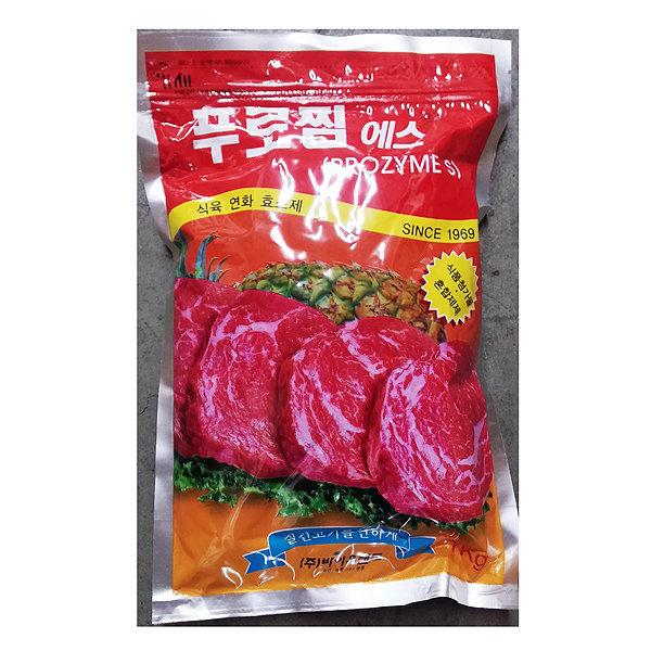 고기 연육제 푸로찜 에스 1kg / 식육 연화제 프로찜 S
