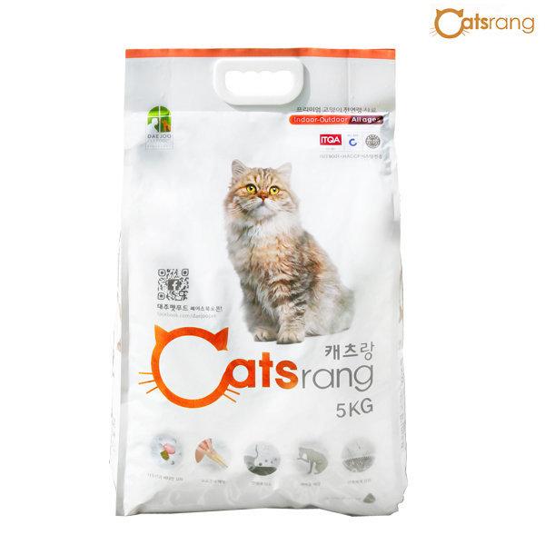 캐츠랑 5kg/전연령/고양이사료