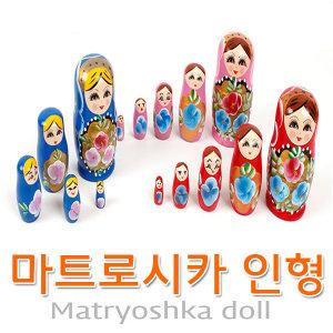 러시아인형 마트로시카 일본인형 고케시 목각
