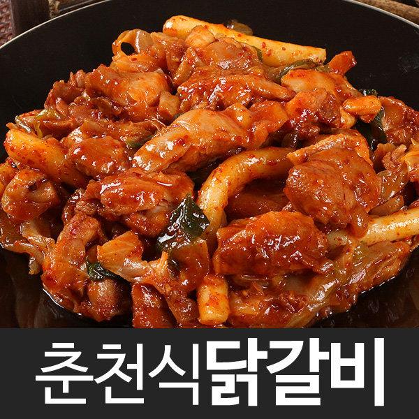 참닭 춘천닭갈비 700g/닭볶음탕/찜닭/불고기