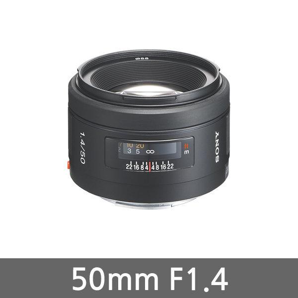 소니정품 표준단렌즈 SAL50F14 50mm F1.4.