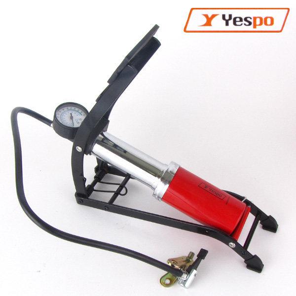 예스포 자전거 싱글 발펌프 자전거펌프