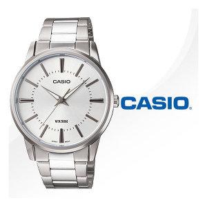 (현대Hmall)정품 CASIO  MTP-1303D-7A 카시오 실버 메탈 밴드 시계