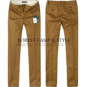 (현대Hmall) FOREST CAMP Slim-Fit Stretch Pant/스트레치면바지 FCPL4370-CamelBrown