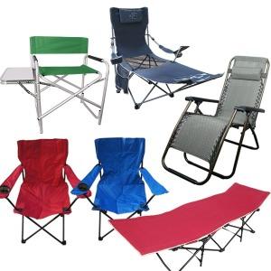 캠핑의자 모음/비치체어/접이식/의자/야전침대